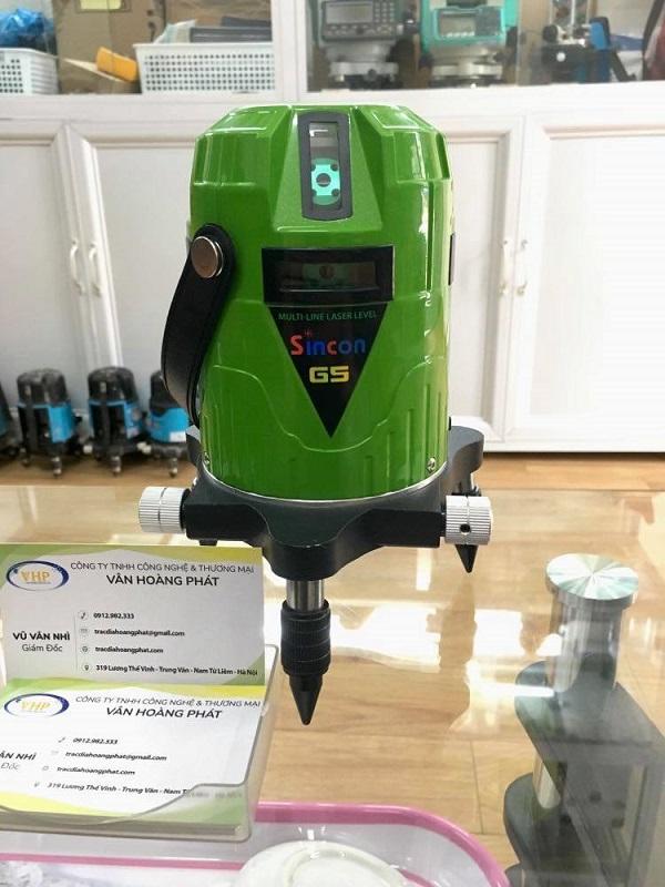 may-can-bang-laser-5-tia-xanh-sincon-g5