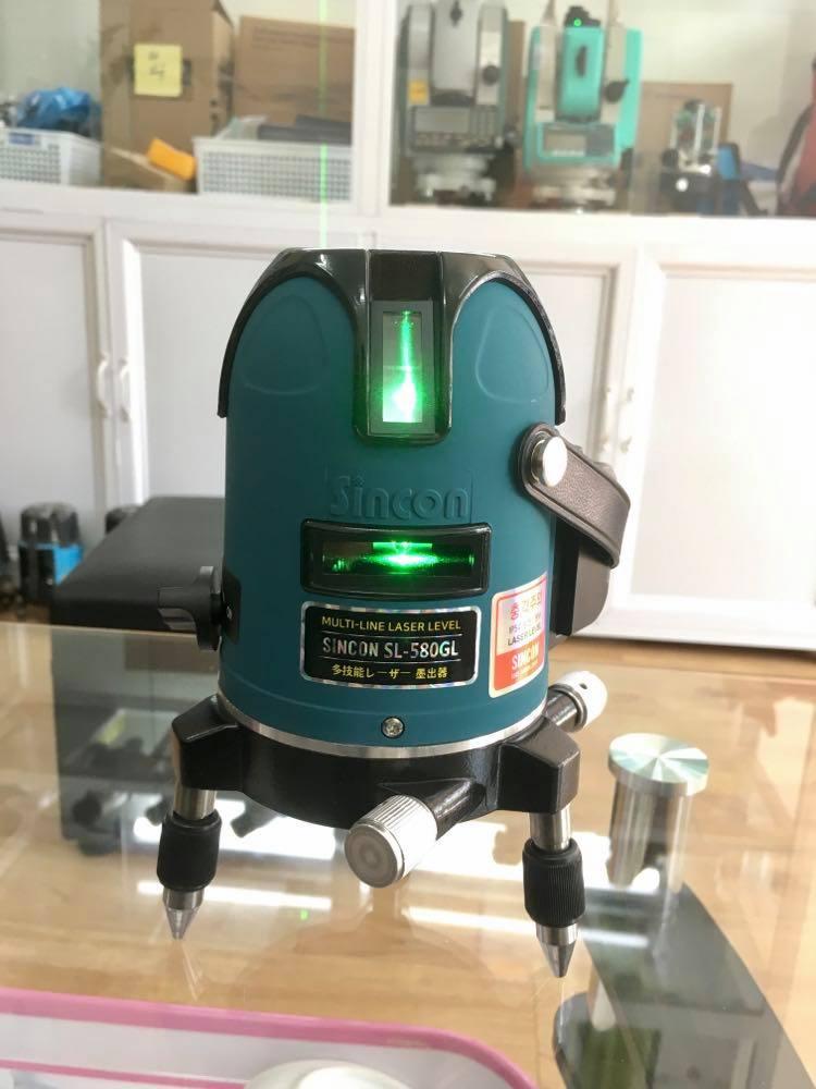 may-can-bang-laser-5-tia-xanh-sincon-sl580gl