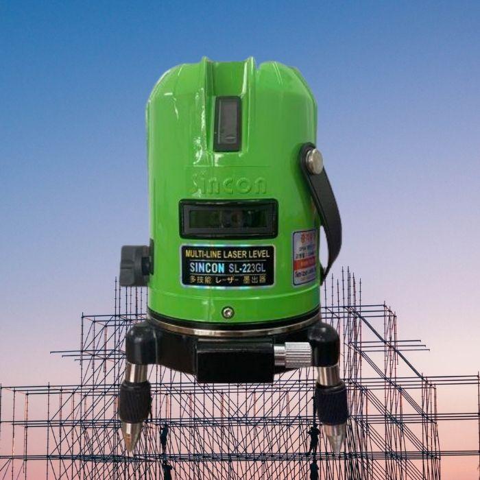 may-can-bang-laser-5-tia-xanh-sincon-sl223gl