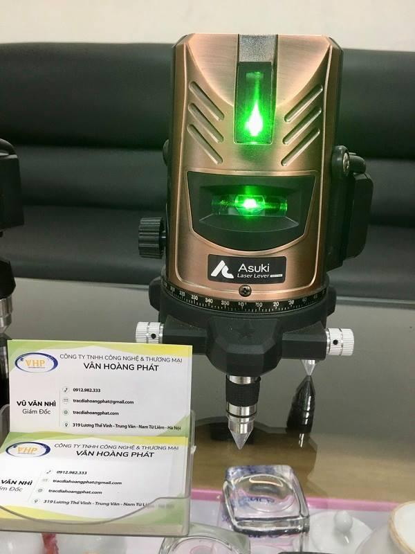 may-can-bang-laser-5-tia-xanh-asuki